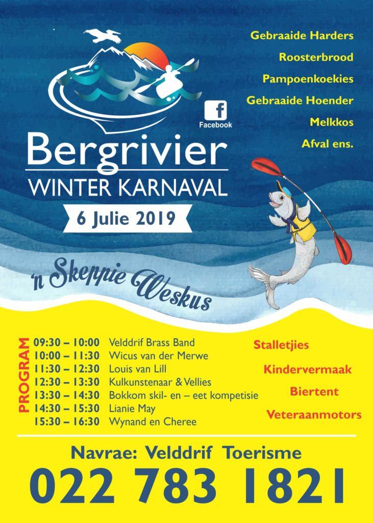 Bergrivier Winter Karnaval Poster2019