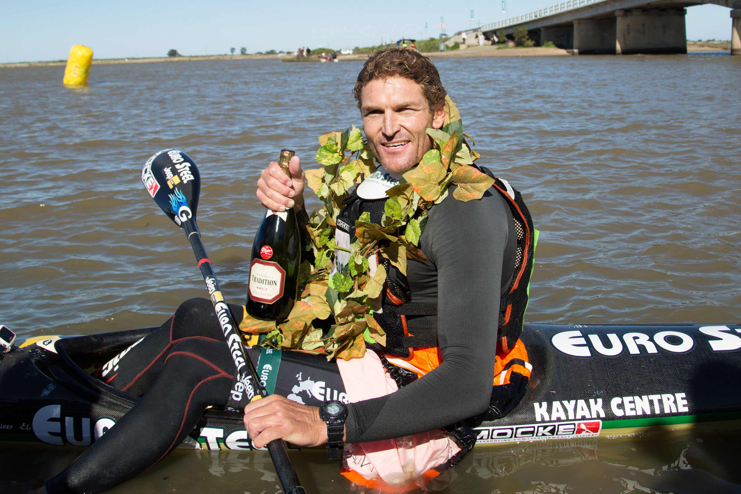 Hank McGregor opts for unique Ultra Paddle on the Berg